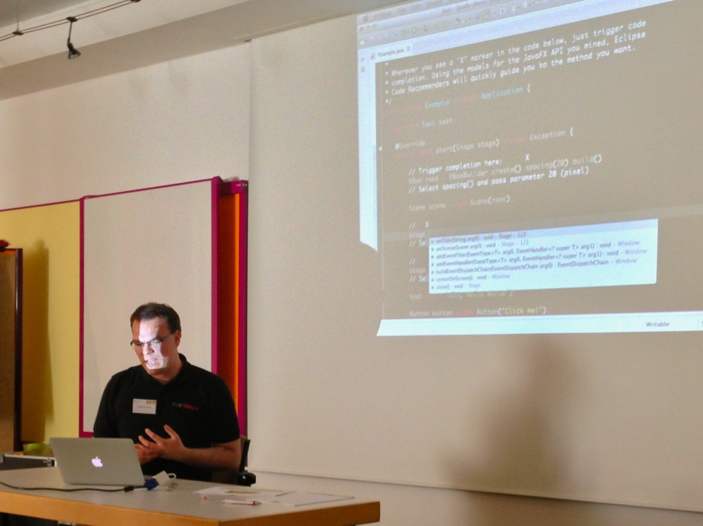 Andreas Sewe shows Hippie Code Completion